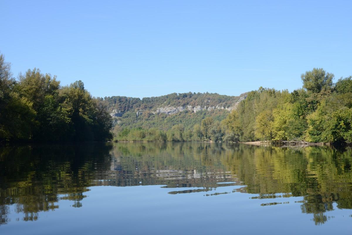 Dordogne Kanufahren