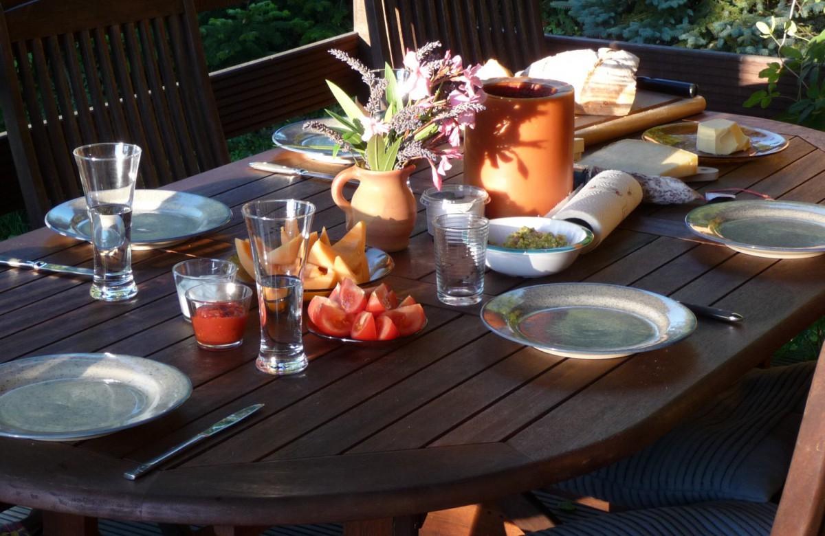 Abendessen Ruhe