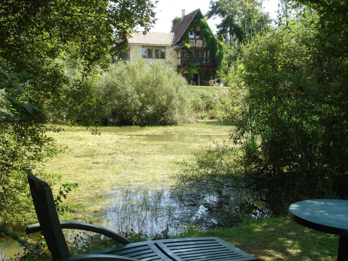 Fischerhaus Teich
