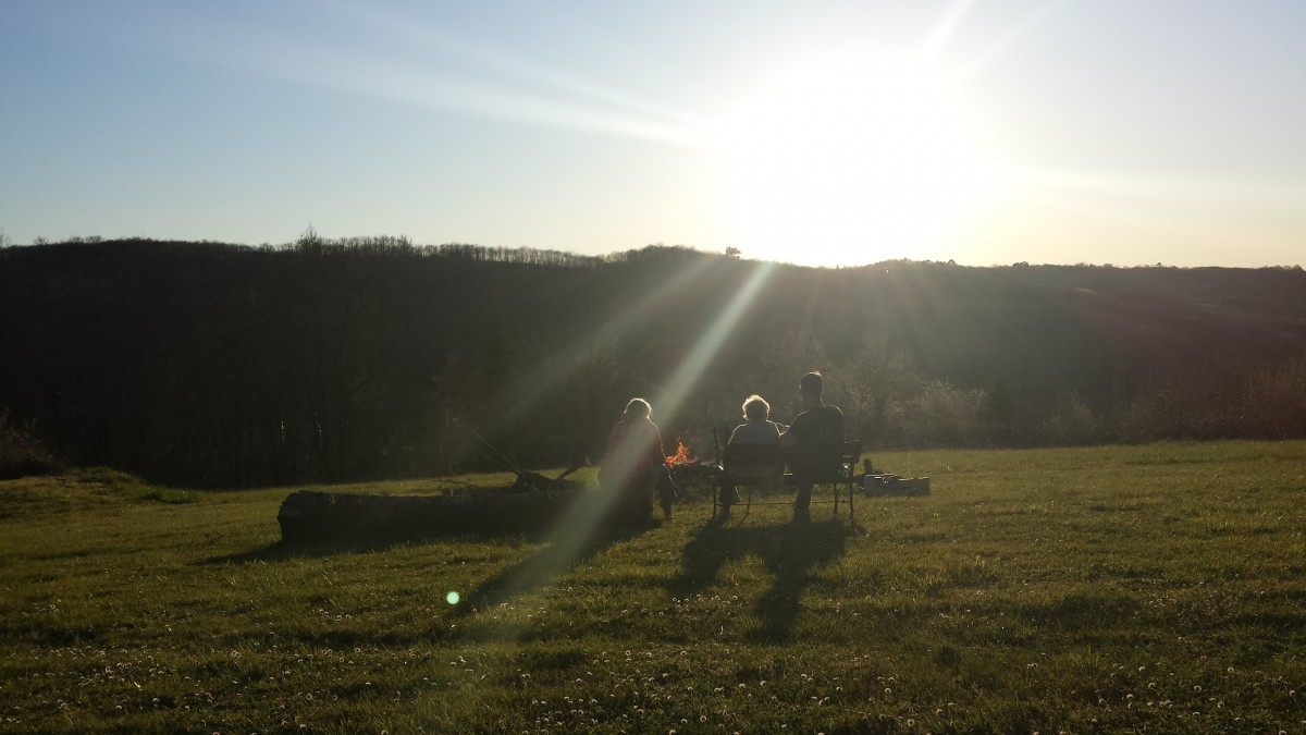 Ruhe bei Graf – Sonnenuntergang