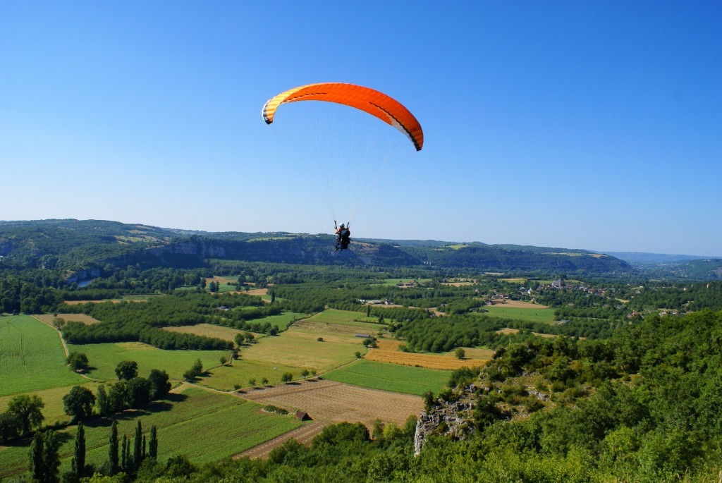 paragliding Frankreich