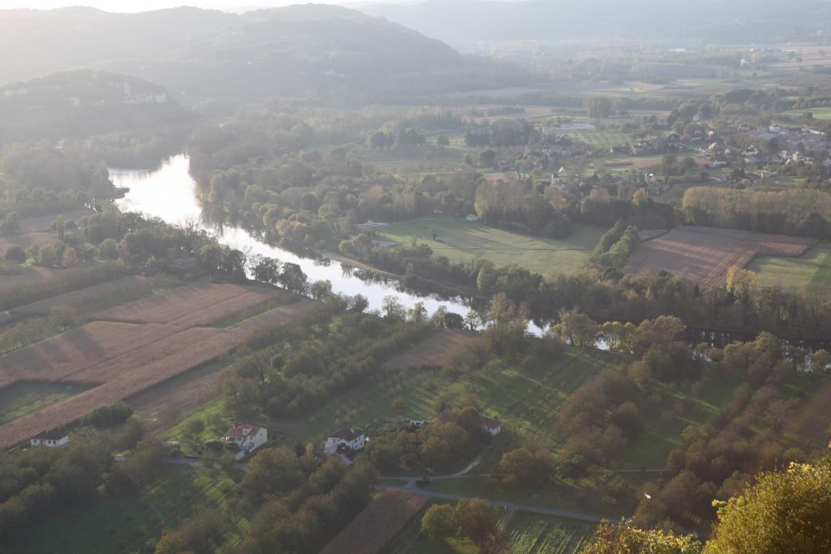 Sicht Dordogne