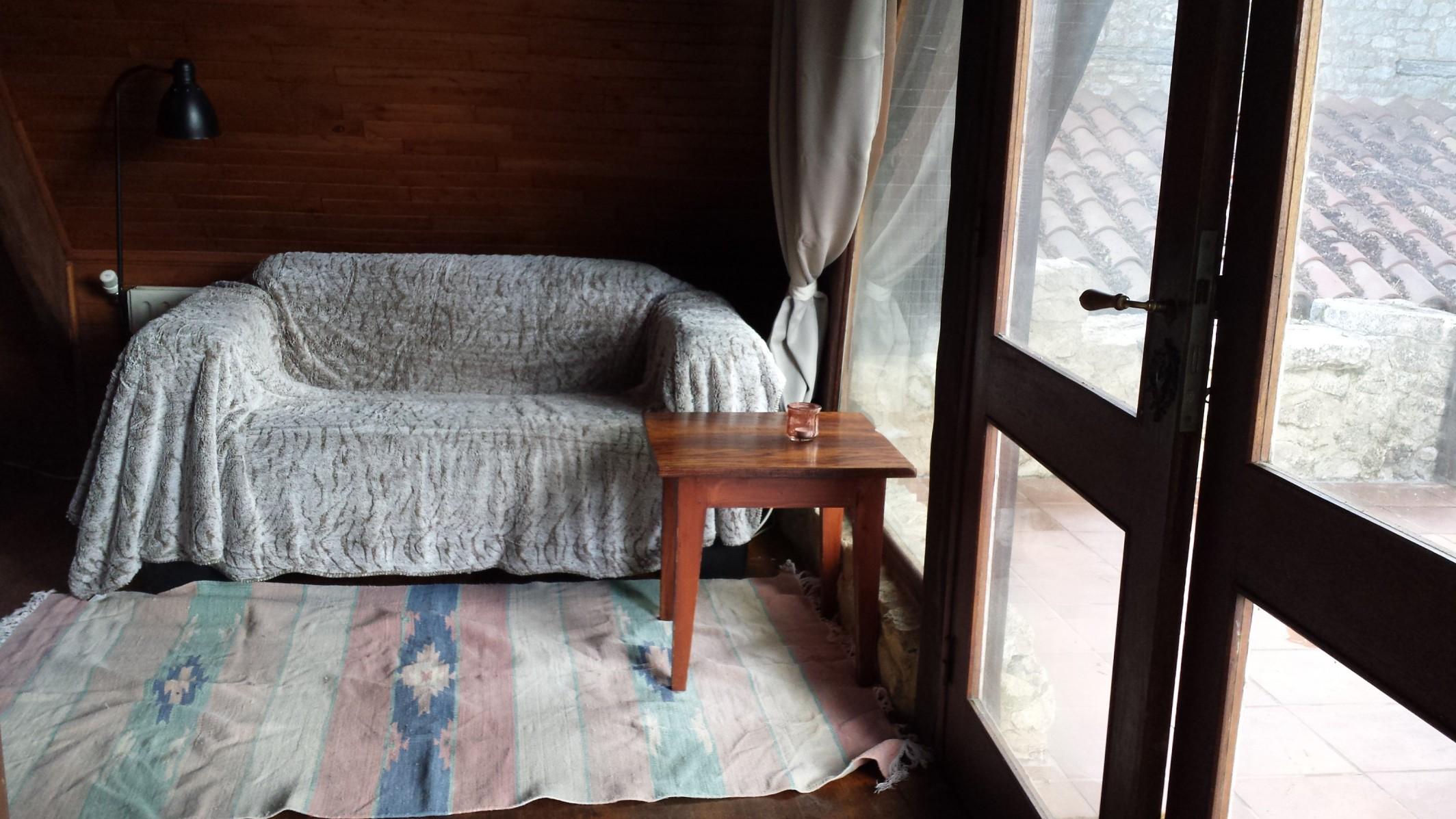 Die Eule – Wohnzimmer – Sofa