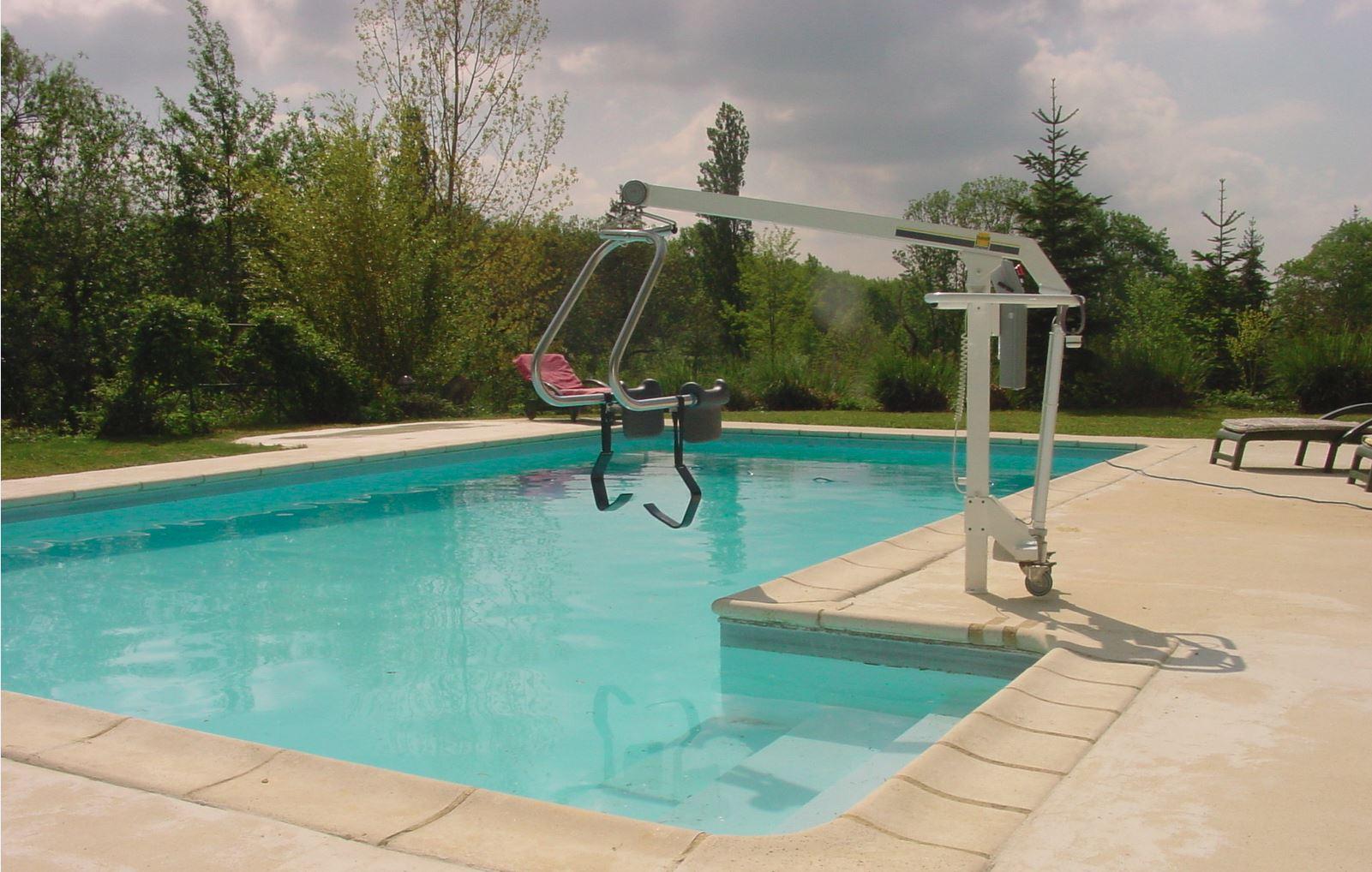 Ferienhaus – Schwimmbadlifter Rollis