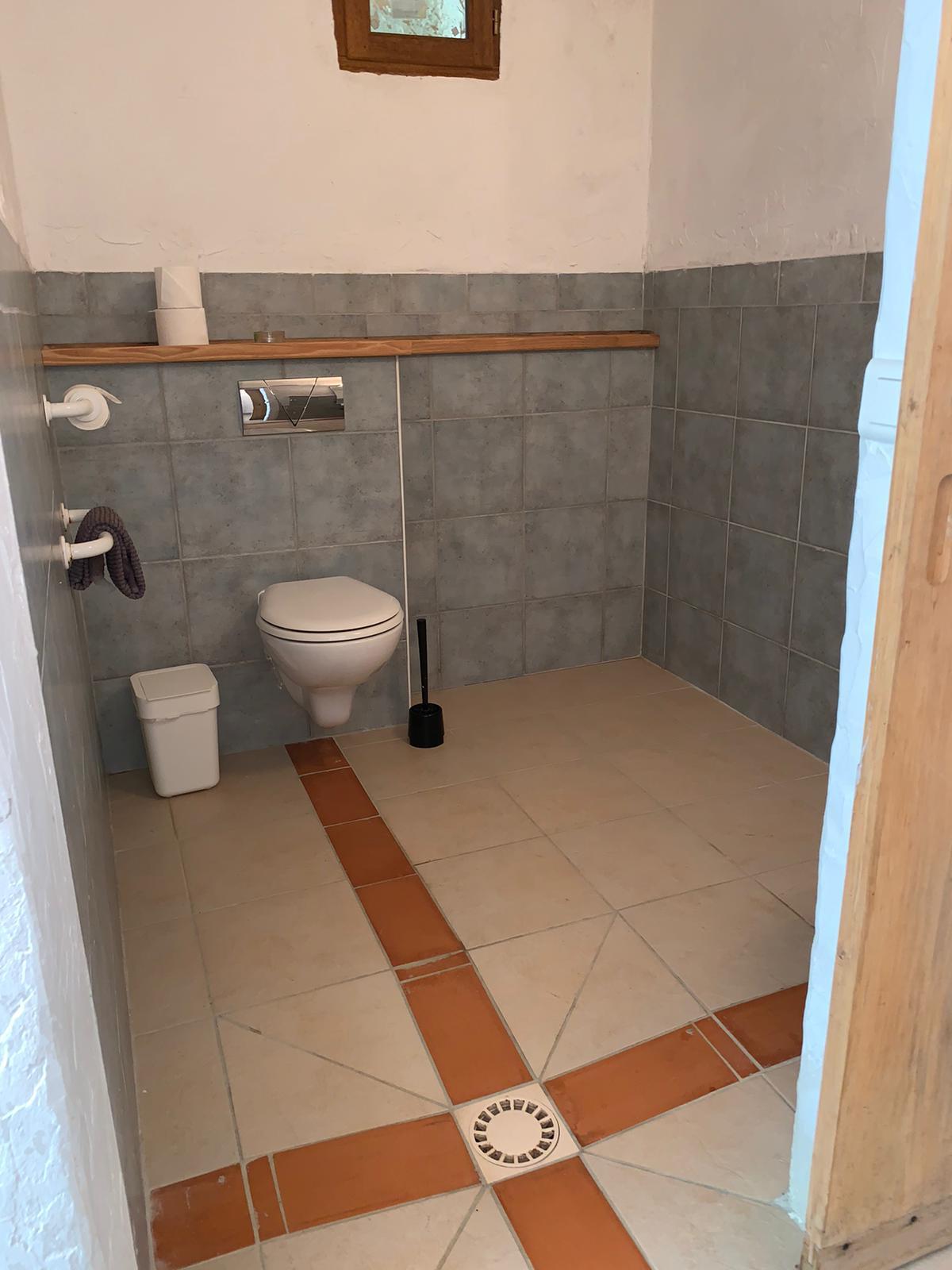 Ferienhaus Fischerhaus – Sauna Toilette