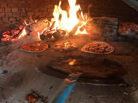 Pizza four à pain